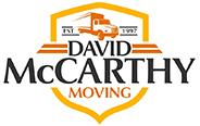 David McCarthy Moving Logo