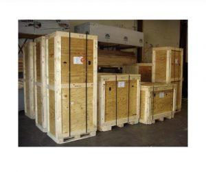 Custom-built moving crates