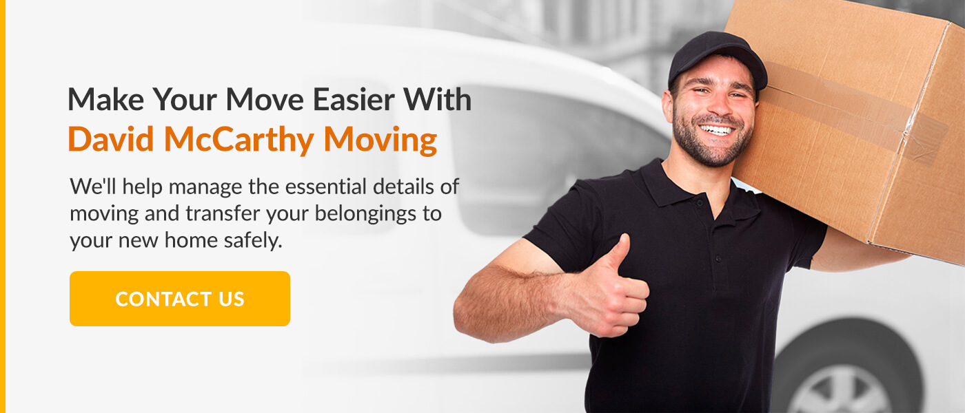 Make Your Move Easier With David McCarthy Moving
